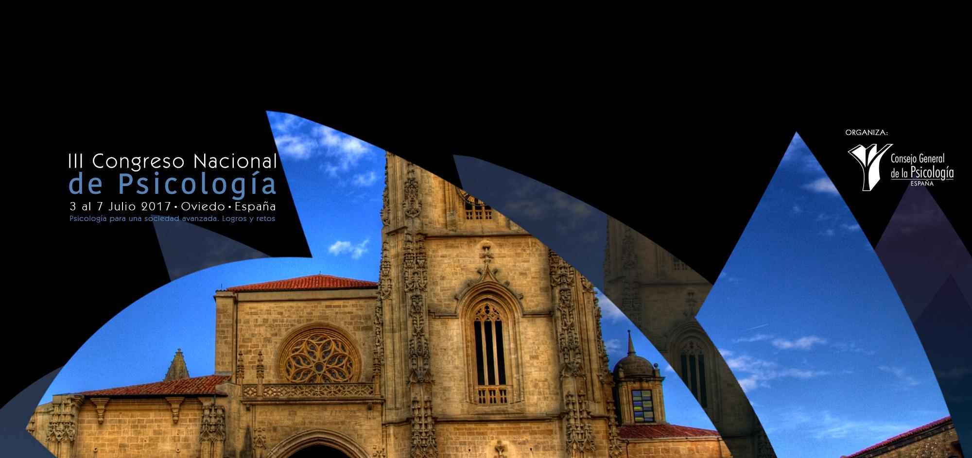 III Congreso Nacional de Psicología de Oviedo 2017